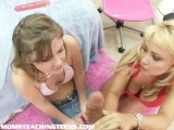 Teens First Blowjob Lesson