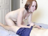 Amateur Teen Sucks Cock