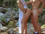 Extreme Wild Fuck With Petite Teen On Waterfall – Amateur Couple CarryLight