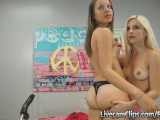 Wild And Naughty Teen Lesbian Girls!