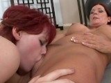 Milf Seduces Teen Into Lesbian Sex