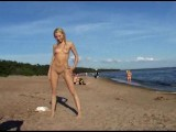 Young Nudist Beach Teen