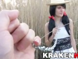 Krakenhot – Submission Of A Chained Brunette Teen Outdoor