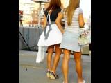 Public Upskirt In Russian City