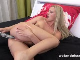 Wetandpissy – Dildo Play For Piss Soaked Blonde Babe Katy Sky