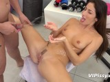 Vipissy – Hardcore Sucking And Fucking For Piss Drenched Brunette Clea
