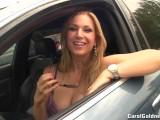 Public Flashing In Car
