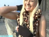 Hot Blonde Teen Naomi Naked On Public Streets