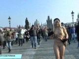 Horny Babes Shows Their Naked Hot Bodies In Public