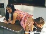 Teen Asian Girl Punished By The Teacher