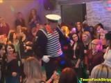 Moms And Girlfriends Turn Dirty & Shameful At CFNM Stripper Night