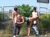 Blonde Cutie PUBLIC Teens Group Gangbang Street Sex Orgy In Broad Daylight