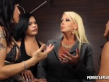 Hot Blond Fucked By A Group Of Gurls