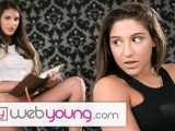 August Ames Eats Out Her Step-Sister
