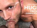 Huge Facial Compilation. Mars Gymburger