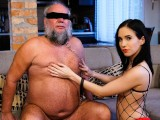 GrandpasFuckTeens Young Dominatrix Takes A Hard Care Of The Grandpa Next Door