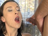 Teen Drenched In Warm Piss