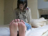 Cute Japanese Girl Feet Tickled